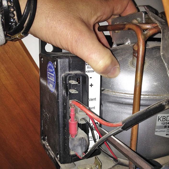 Kühlaggregat reparieren