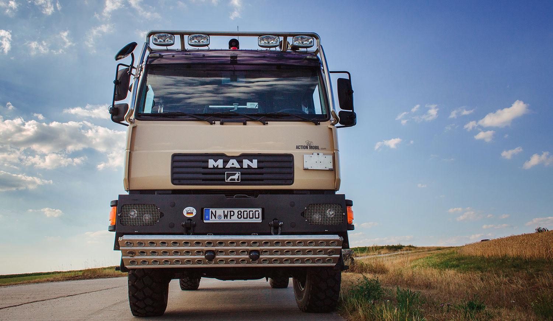 MAN Truck Front | Fotograf: Anna Eiswert