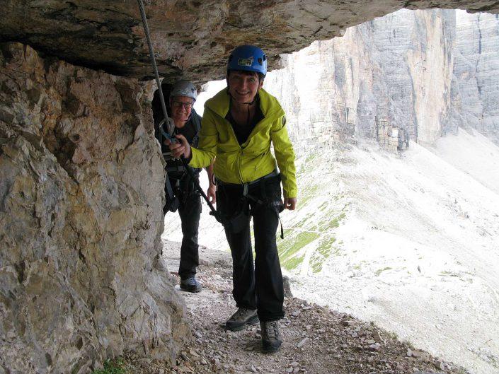 Innerkofel De Luca-Steig, Paternkofel (2744 m), Sextner Dolomiten