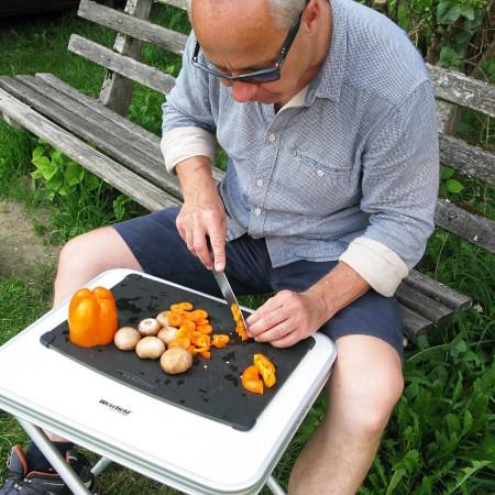 Kochen in der Outdoorküche