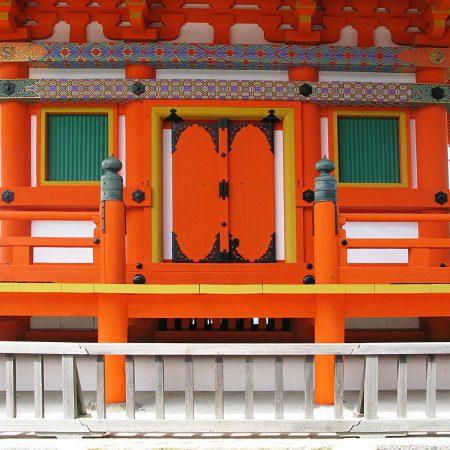 Kyomizu Tempel in Kyoto