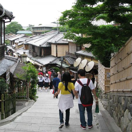 Old town of Kyoto
