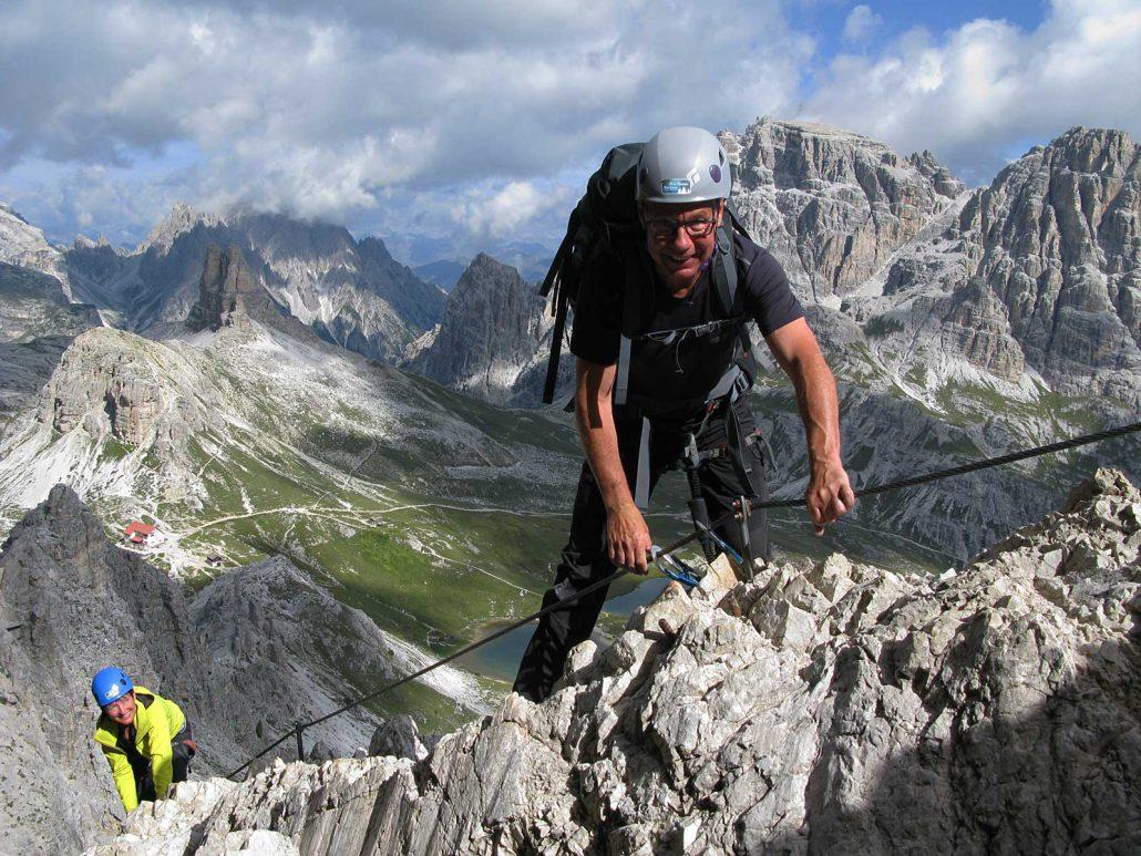 Innerkofel De Luca-Steig, Sextner Dolomiten