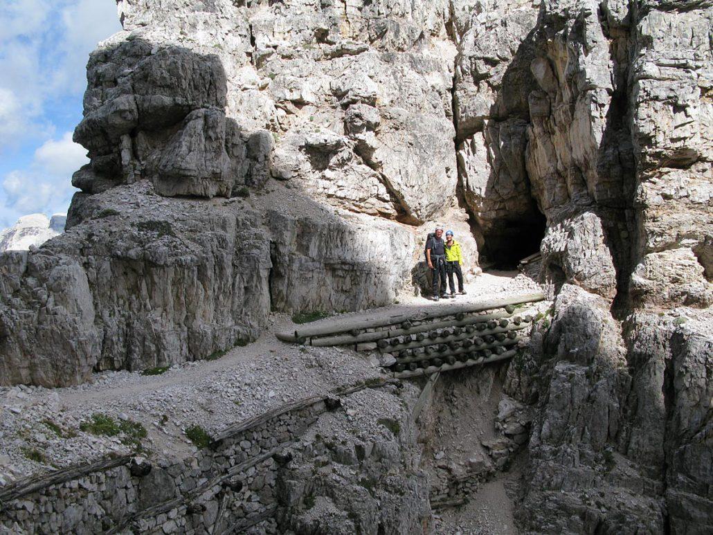 Innerkofer De Luca-Steig, Sextner Dolomiten
