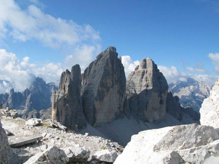 Drei Zinnen Nordseite, Sextner Dolomiten