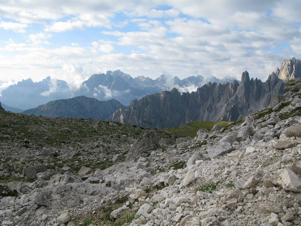 Aufstieg zum Gipfel des Paternkofel (2744 m), Sextner Dolomiten