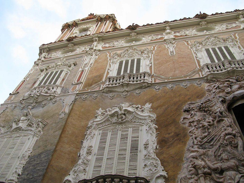 Der Palast des Marquis de Dos Aguas in Valencia