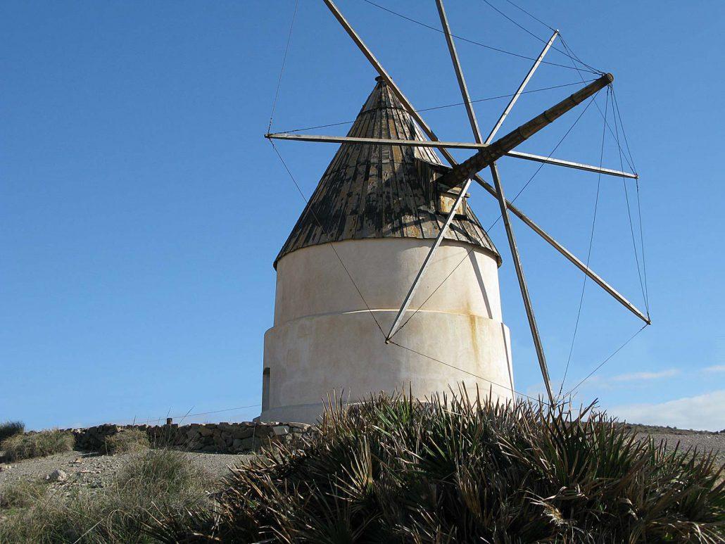 Die alte Windmühle Los Genoveses