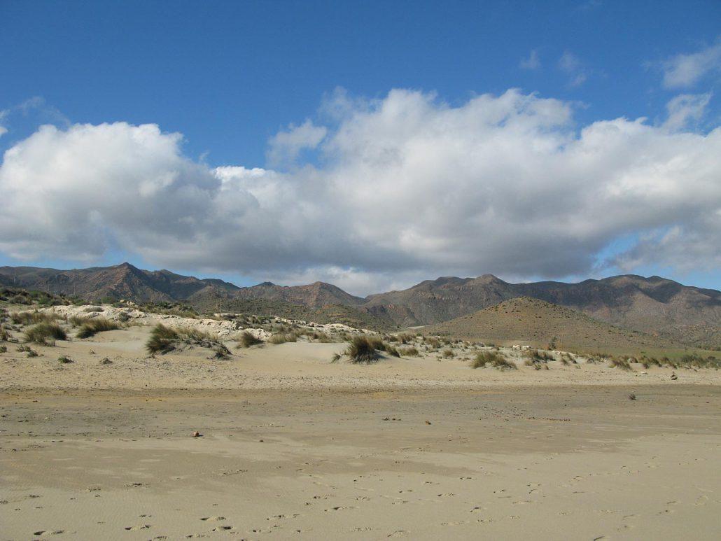 Sandstrand am Playa de Los Genoveses