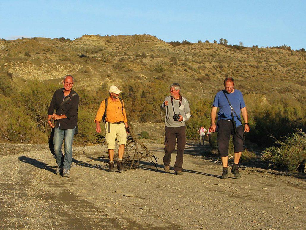 Gruppenwanderung und Holzsammeln im Parque Natural Sierra Alhamilla