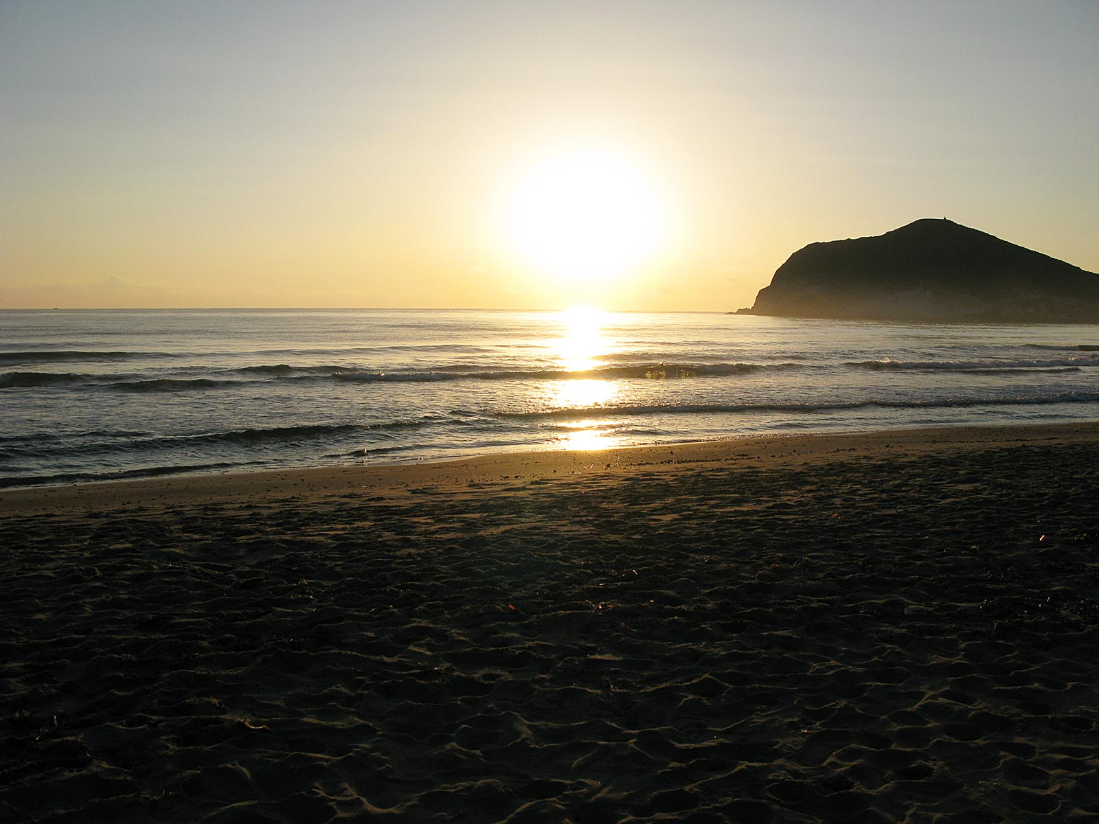 Sunset at Playa de Los Genoveses