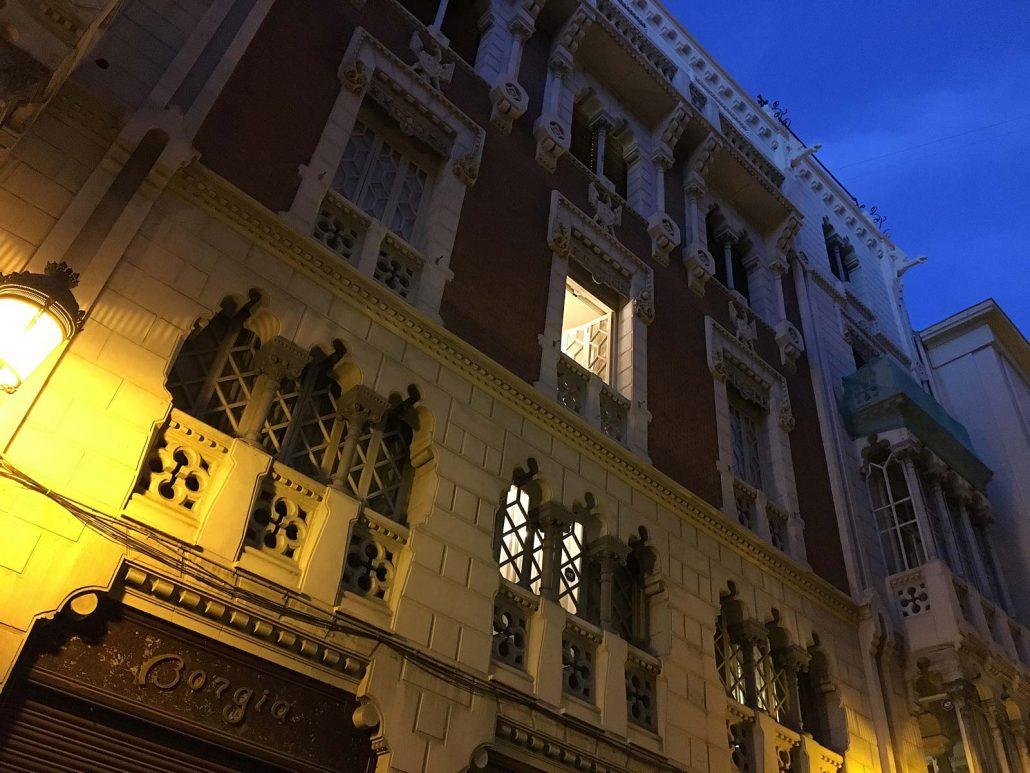 Maurische Architektur in Valencia