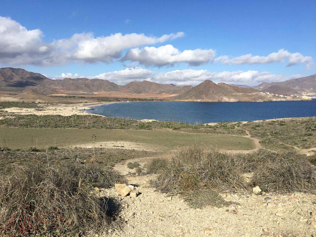 Landschaft des Parque Natural del Cabo de Gata-Níjar