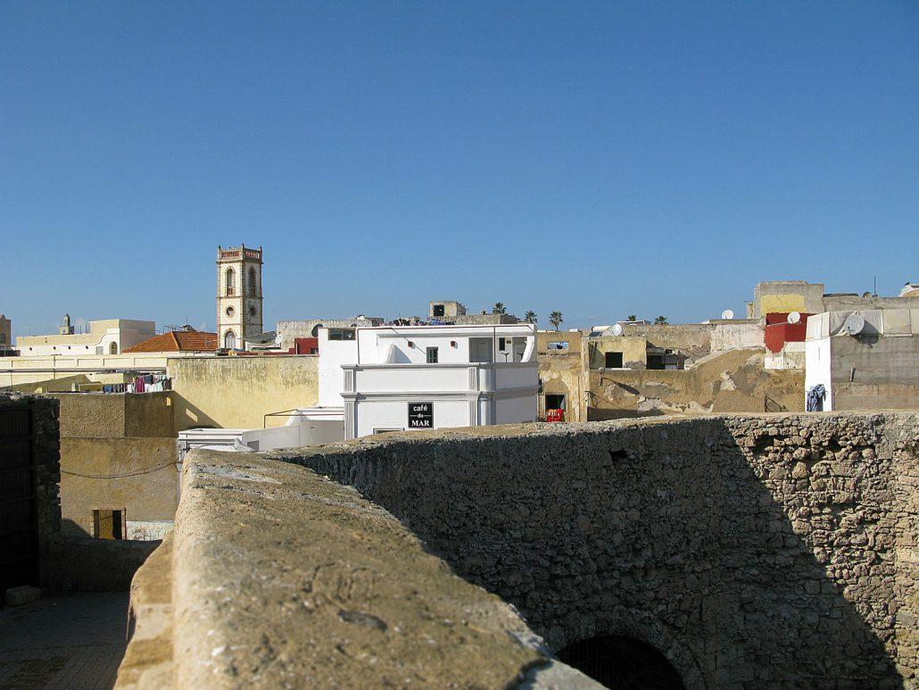 View of Cité Portugaise in El Jadida in Morocco