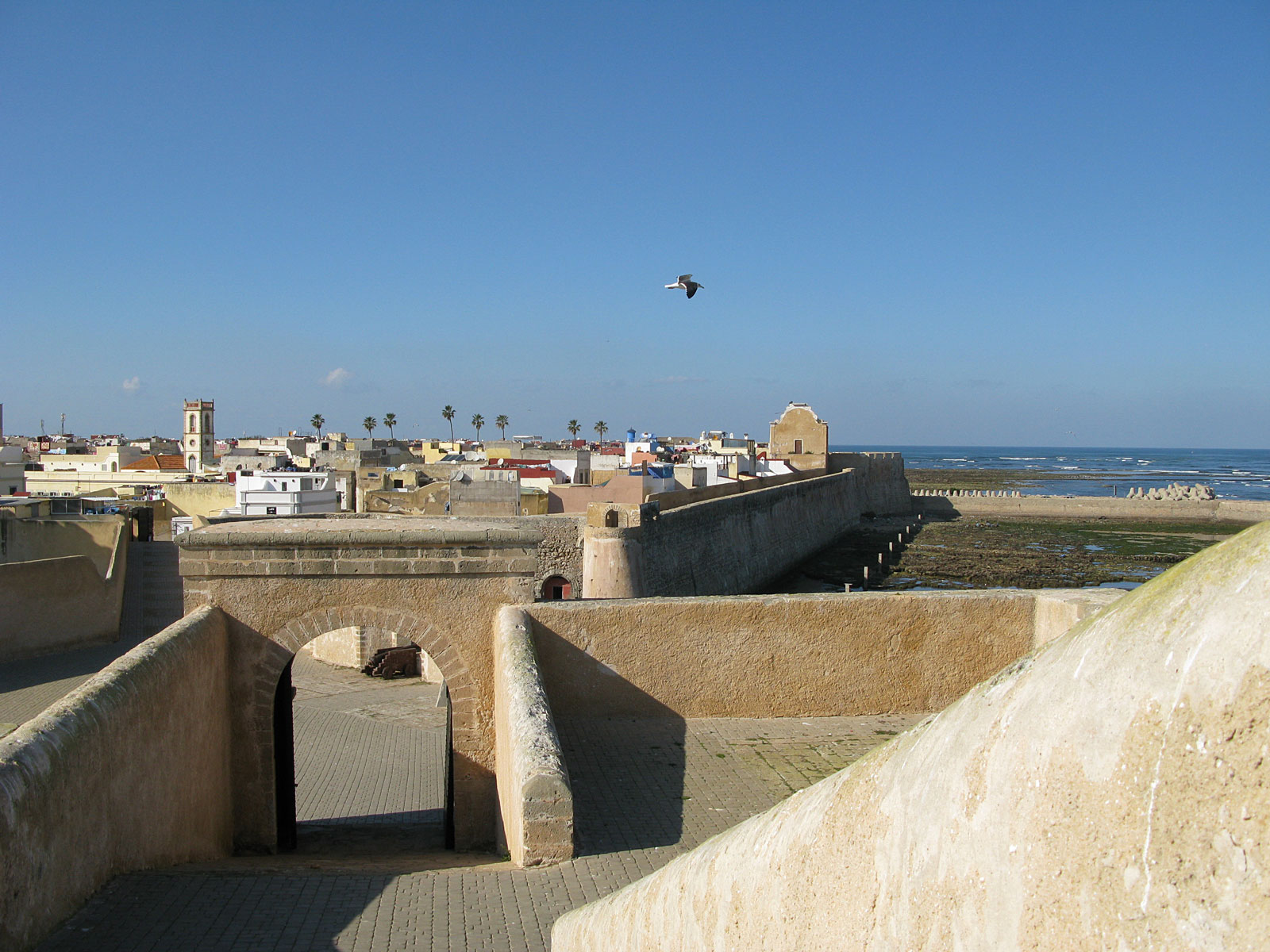 City of El Jadida in Morocco