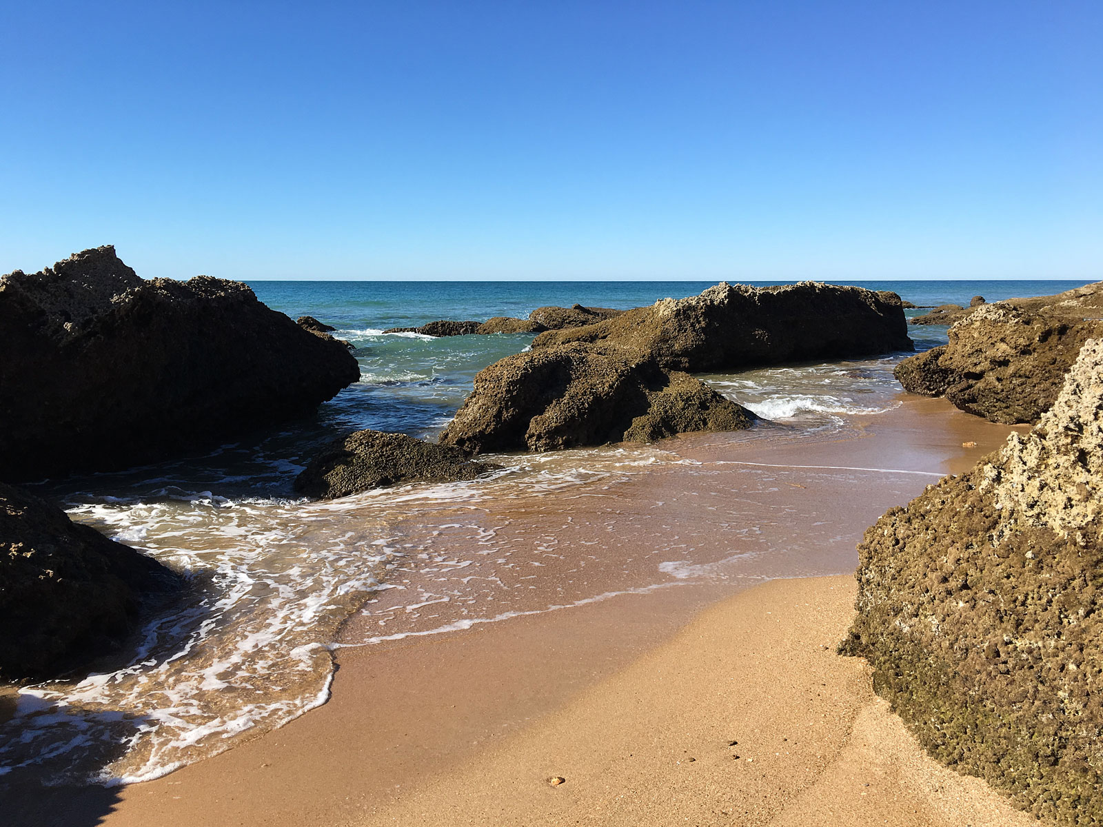 Costa de la Luz in Spain