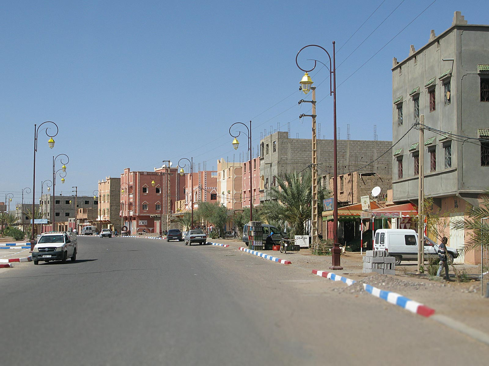 Main road of Zagora