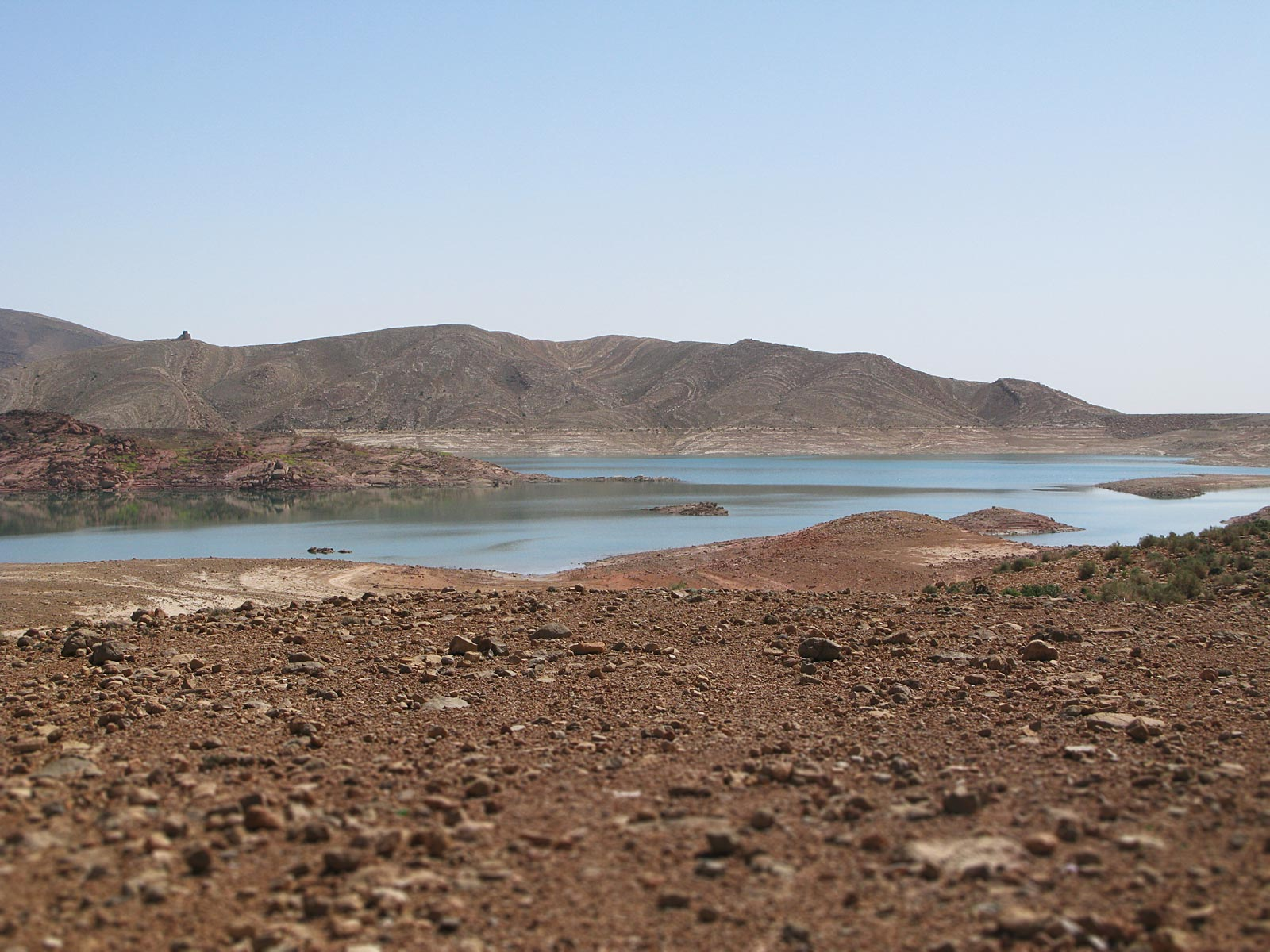 Reservoir in Morocco