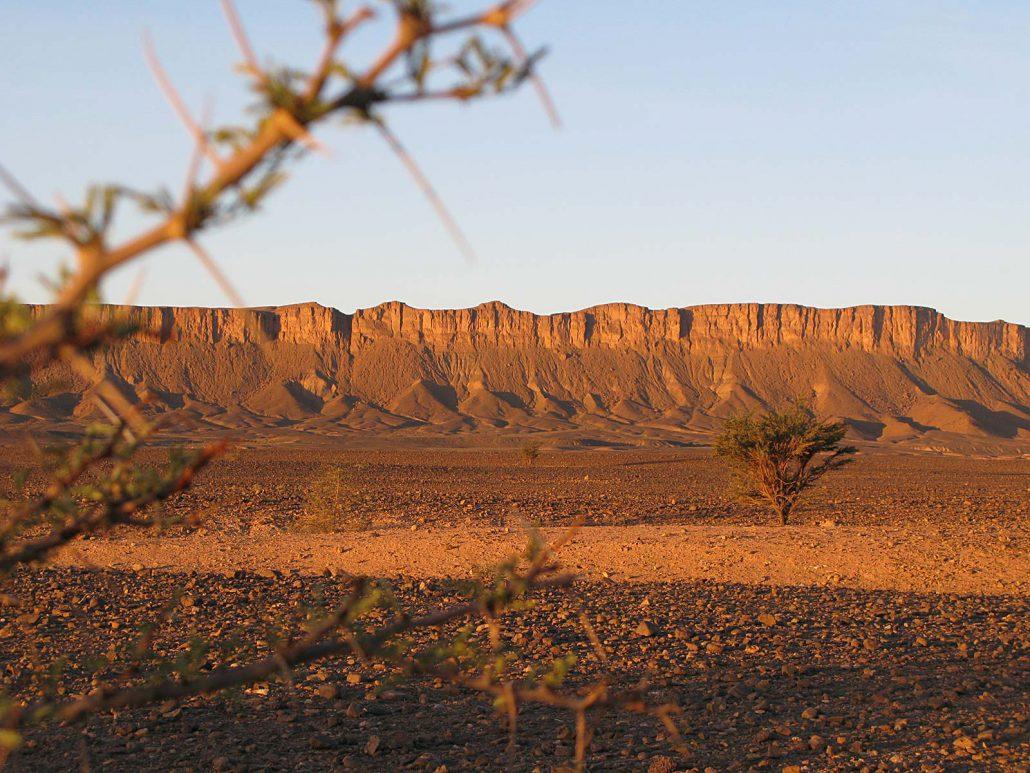 Feierabend in der Wüste Marokkos