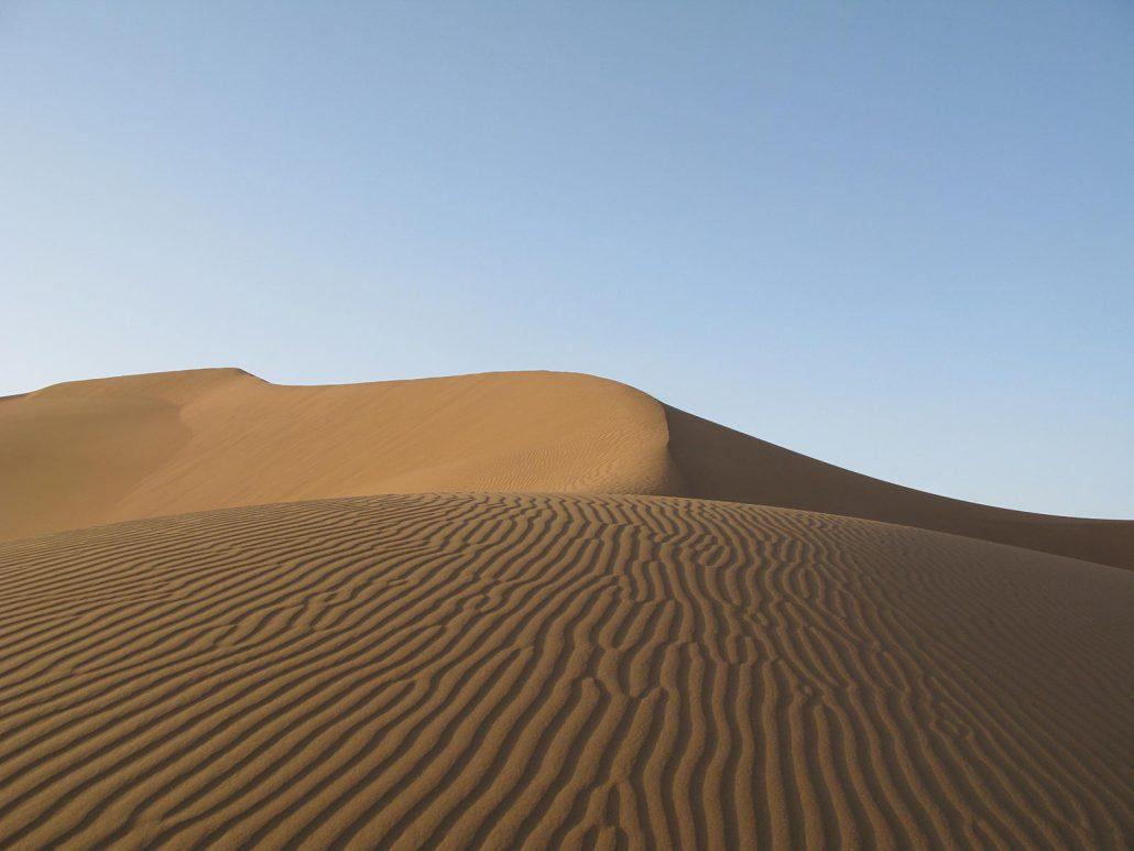 Sanddünen in Erg Chegaga