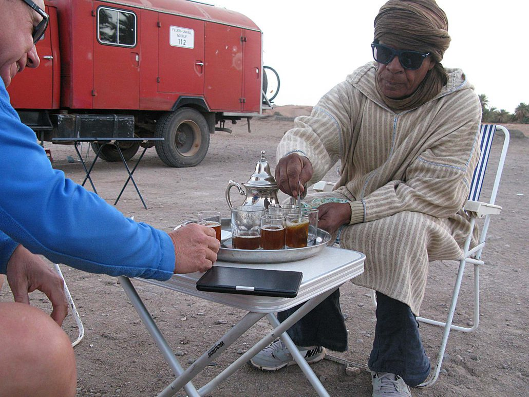 Tee mit Abbas