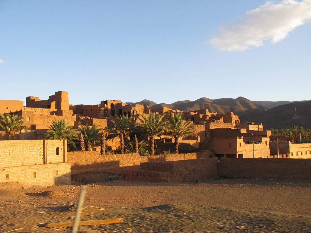 Loam houses in Morocco