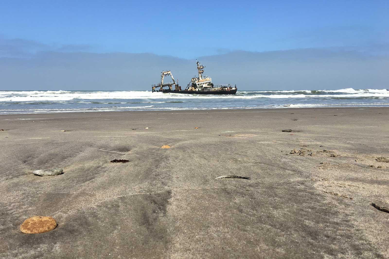 Shipswreck Ziela of Hangana