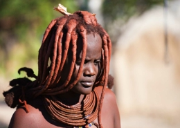 Woman of the Himba tribe