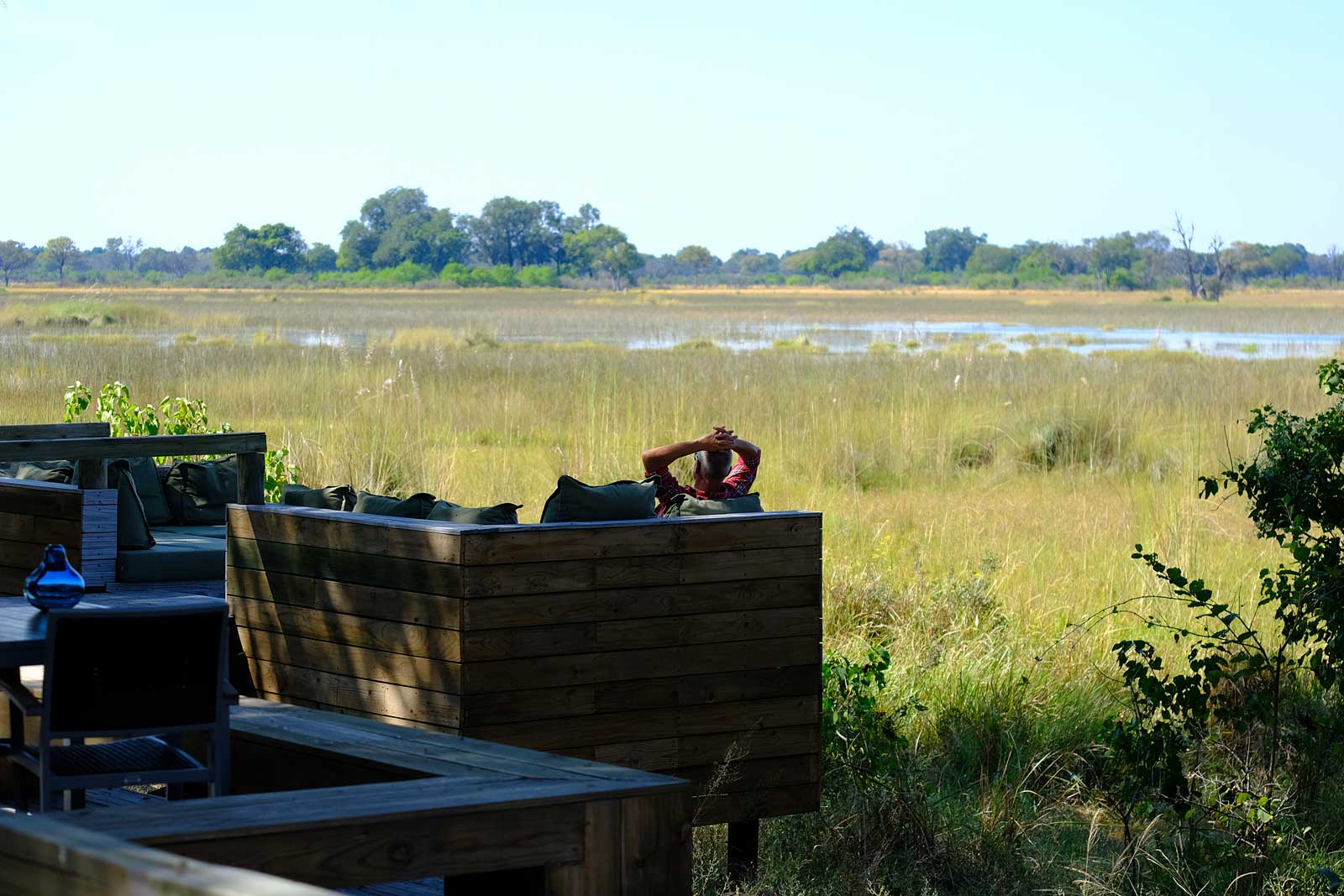Vumpura Camp in the Okavango Delta