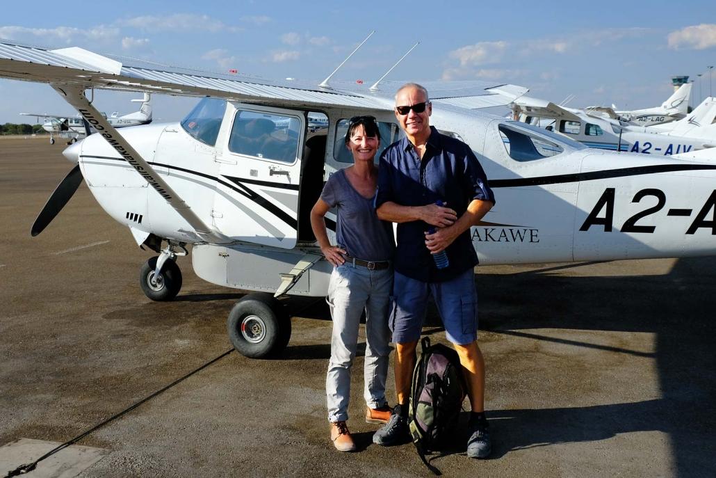 Mit dem Kleinflugzeug ins Delta