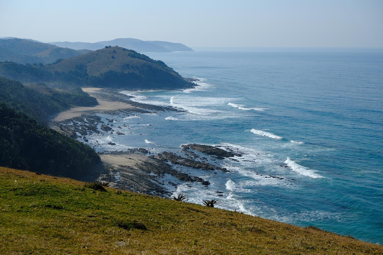 Küstenlandschaft an der Wild Coast